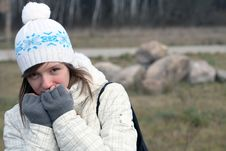 Free It Is Cold Today Stock Photography - 17024982