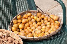Free Dried Mandarin Stock Image - 17025231