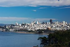 Free San Francisco Skyline Royalty Free Stock Photography - 17025497
