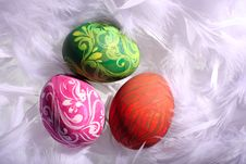 Free Easter Eggs Royalty Free Stock Photo - 17025665