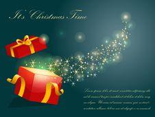 Free Christmas Vector Background Stock Photos - 17026053