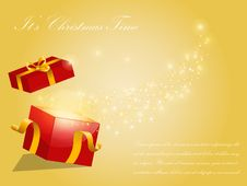 Free Christmas Vector Background Stock Photos - 17026073