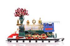 Free Christmas Train Stock Photography - 17026402