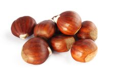 Free Chestnuts Royalty Free Stock Images - 17027579