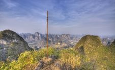 Free Yangshuo Karst Landscape Guangxi China Stock Photo - 17027780