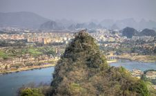 Free Deicai Hill Guilin Guangxi China Stock Photos - 17027813