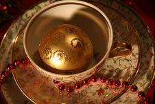 Free Christmas Table Set Stock Image - 17027841