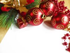 Free Christmas Decoration Royalty Free Stock Photo - 17027885