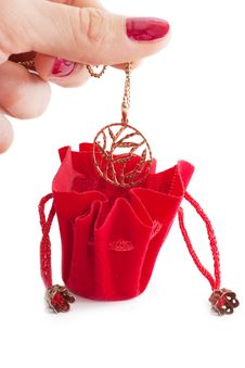 Free Little Red Bag Royalty Free Stock Image - 17027956