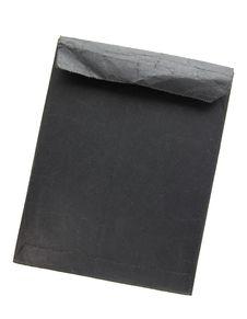 Free Old Black Envelope Royalty Free Stock Photos - 17028328