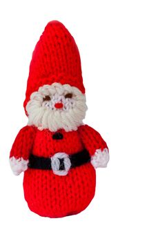 Free Woollen Father Christmas Royalty Free Stock Photography - 17028877