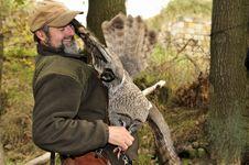 Free Burrowing Owl,Athene Cunicularia. Royalty Free Stock Image - 17028886