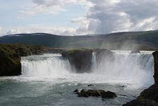 Free Huge Waterfall In Iceland Stock Photos - 17029043
