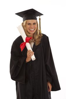 Free Young Female Graduate Stock Image - 17029271