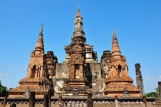 Free Old Temple In Sukhothai Royalty Free Stock Photos - 17029728