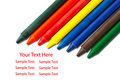 Free Colorful Crayons Royalty Free Stock Images - 17032919