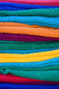 Free Colorful Cotton Towel Royalty Free Stock Photo - 17035235