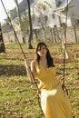 Free Woman Having Fun Outside Royalty Free Stock Image - 17035656