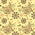 Free India Ornament Background. Paisley Seamless Stock Photography - 17038802
