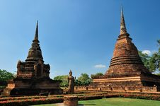 Free Old Temple In Sukhothai Stock Photos - 17030153