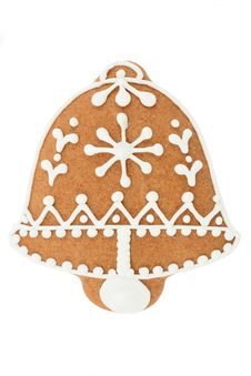 Free Gingerbread Bell Royalty Free Stock Image - 17030166