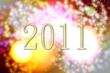Free New Year 2011 Fireworks Royalty Free Stock Image - 17030376