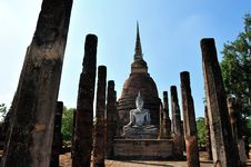 Free Old Temple In Sukhothai Royalty Free Stock Photos - 17030558