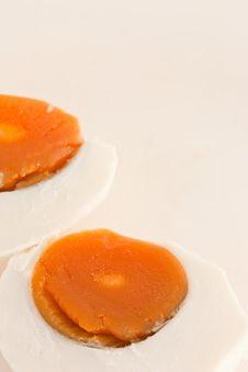 Free Native Thai Style Salted Egg Royalty Free Stock Photos - 17030848