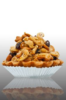 Free Dessert Made From Cashew Nuts Stock Images - 17032274