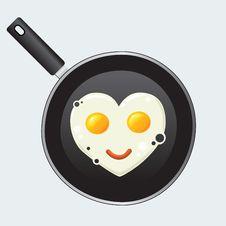 Love Eggs Stock Photos