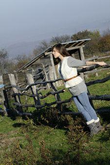Free Girl Enjoying Fresh Air Stock Photography - 17035182