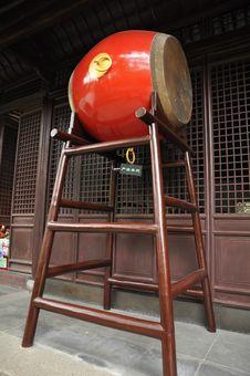 Free Chinese Drum Stock Photo - 17035600