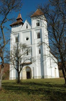 Free The Church Of Herina/Harina/Monchsdorf, Romania Stock Images - 17036684