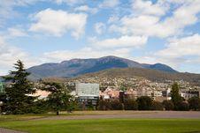 Free View Of Mount Wellington Royalty Free Stock Photos - 17037258