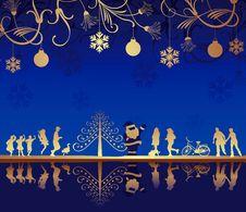 Free Abstract Christmas Holiday Stock Photos - 17037373