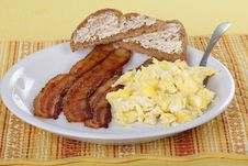 Free Bacon And Egg Brealfast Stock Photo - 17037890