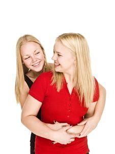 Free Bonding Girls Stock Photography - 17038002