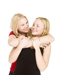 Free Bonding Girls Stock Photos - 17038043