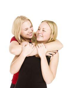 Free Bonding Girls Stock Photos - 17038043