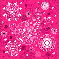 Free India Ornament Background. Paisley Seamless Royalty Free Stock Photo - 17038555