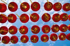Free Lantern Light  Festival In Chiangmai Stock Image - 17039751