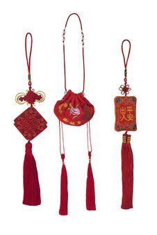 Free Traditional Chinese Fragrant Bags Royalty Free Stock Image - 17039786