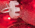 Free Close Up Of Round Red Ornaments Covered In Bubbles Stock Photography - 17042102