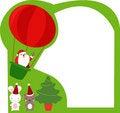 Free Christmas Frame Royalty Free Stock Photo - 17049595