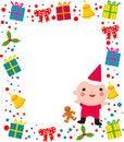 Free Christmas Frame Stock Image - 17049621