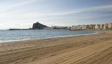 Free View Of Aguilas Town And Harbor Stock Image - 17041181