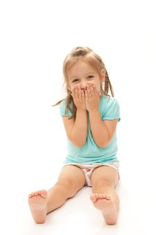 Free Young Girl Laughing Stock Photo - 17042060
