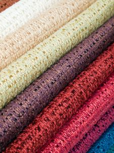 Free Colored Cotton Lining Layer Stock Photography - 17042482