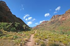 Grand Canyon - South Kaibab Trail Royalty Free Stock Image