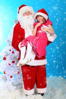 Free Careful Santa Stock Photos - 17043343
